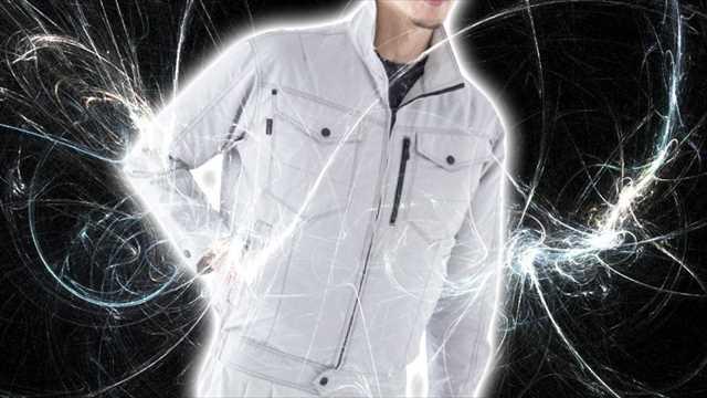 帯電防止の空調服