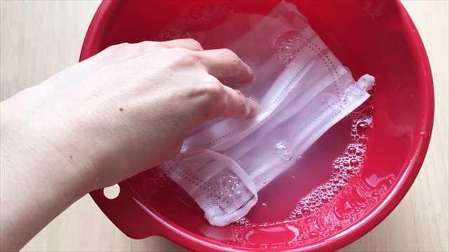 マスクの洗濯方法
