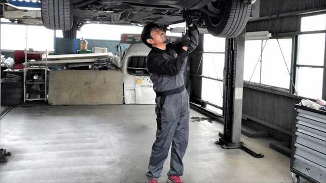 空調風神服 自動車整備